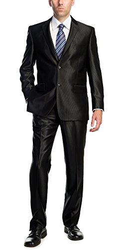 Black Piece Button Dress Front
