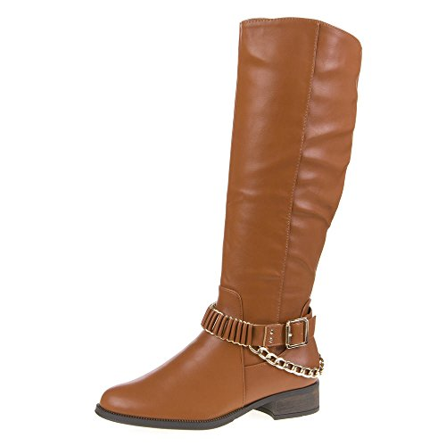 Mujer Guantes, H130, botas marrón claro