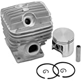 LASER Chainsaw Cylinder Assembly Kit Fits STIHL MS440 & 044, 50mm - Includes Cylinder, Piston, Rings, Wrist Pins & E-Clips
