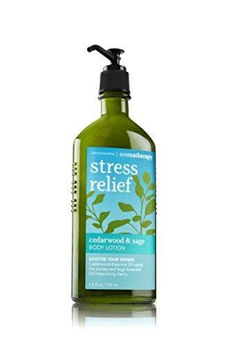Bath & Body Works Aromatherapy Lotion Cedarwood & Sage Stress Relief