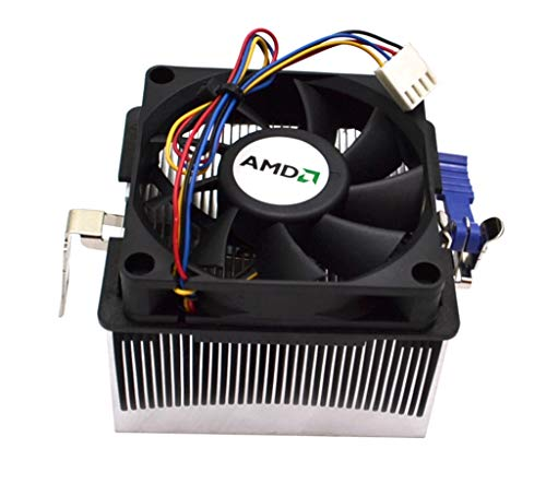 AMD FOXCONN CPU HEATSINK and Cooler Fan Assembly with 4-PIN Connector 2ZQ99-095