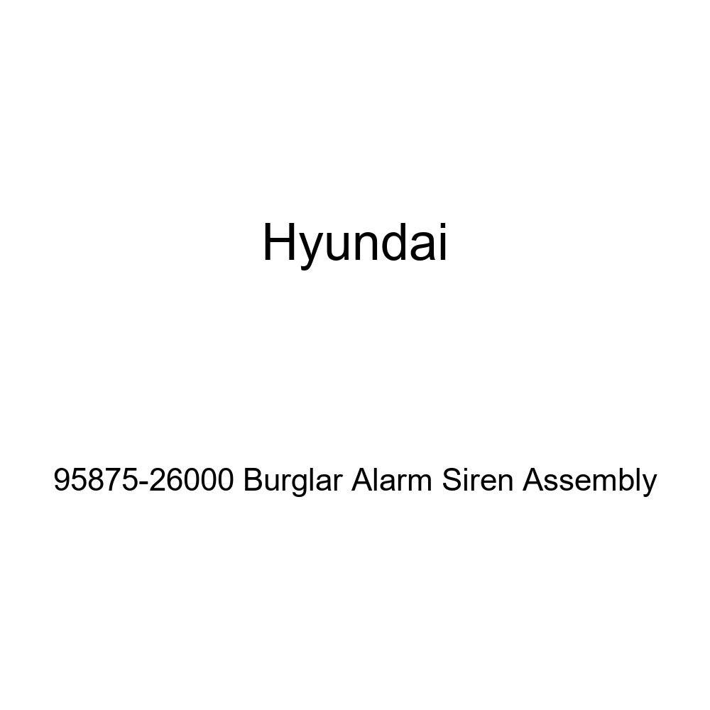 HYUNDAI Genuine 95875-26000 Burglar Alarm Siren Assembly