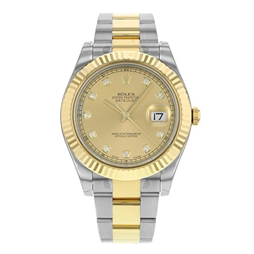 Rolex Datejust Champagne (Rolex Datejust II Champagne Dial Automatic Stainless Steel and 18kt Yellow Gold Mens Watch 116333CDO )
