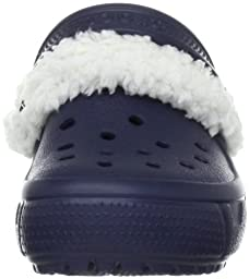 crocs Kids\' Mammoth EVO Clog (Toddler/Little Kid),Navy/Oatmeal,C6/7 M US Toddler