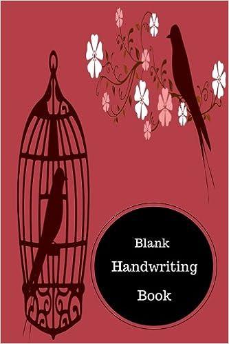 Blank Handwriting Book: Learn To Write Kindergarten Worksheets ...