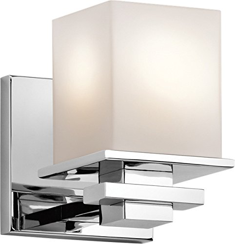 Kichler 45149CH Tully Wall Sconce 1-Light, Chrome
