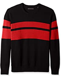 "<span class=""a-offscreen"">[Sponsored]</span>Men's Big and Tall Doube Stripe Sweater"