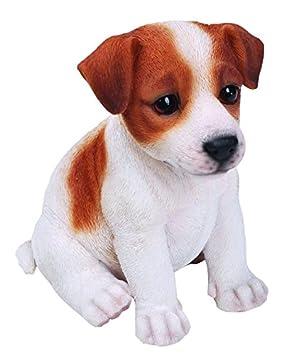 Hi-Line Gift Ltd Sitting Jack Russel Terrier Puppy, 65