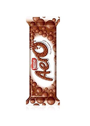Nestle Aero Milk Chocolate Bar, (27 g) 1.4 Ounce (Pack of 12)