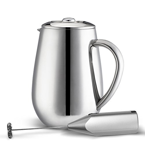Double Wall Tea & Coffee Brewer | Stainless Steel Coffee Pot