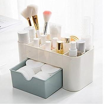 Tia-Ve cosmetici trucco cassetto tipo Storage box case Holder Brush Pen organizer per gioielli per ragazze e donne, PP, Rose, 1
