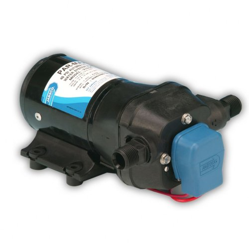 Jabsco 31600-0092 PAR-Max 3 Water System Pump, 3.5 GPM, 20 PSI Cut In, 12 Volt, ()