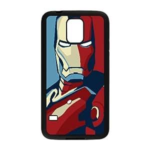 Iron Man Comic Samsung Galaxy S5 Cell Phone Case Black Customize Toy zhm004-3894606