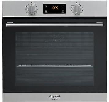Hotpoint FA2 844 H IX HA Forno elettrico 71L A+ Nero, Grigio forno ...