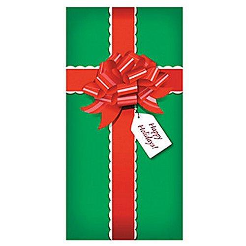 christmas presentgift door banner holiday decorationdecor36 x 72