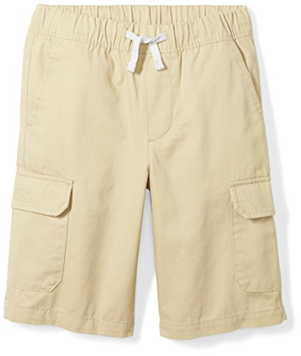 Toddler Boys Cargo Shorts Khaki (Spotted Zebra Toddler Boys' Cargo Shorts, Khaki, 4T)