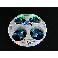 White 6-Axis Gyro UFO Drone