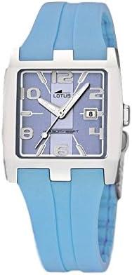 LOTUS 15347/9 - Reloj señora correa caucho color azul