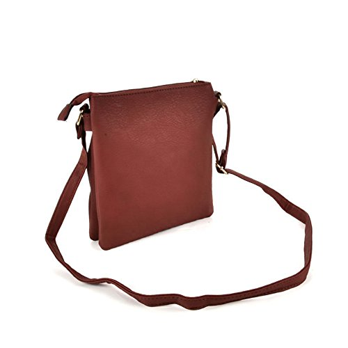 fashion YOUNG women bar body cross metal colours handbags Brown vk5274 7 SALLY O5q7wFB5