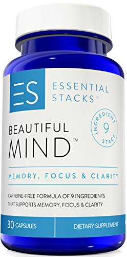 Memory Supplements With NO Caffeine - 9 Smart Ingredients To Support Your Memory, Focus & Clarity WITHOUT Experiencing Jitters Or A Crash