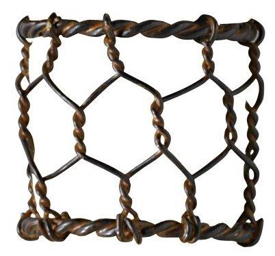 Set of 4 Chicken Wire Napkin Ring