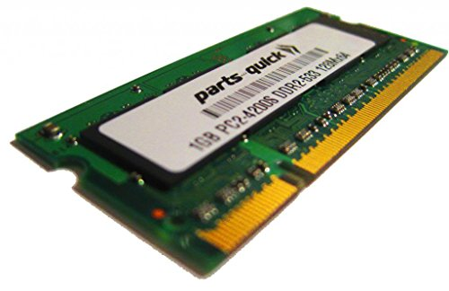 1GB Memory for Acer Aspire 3680-2682 DDR2 PC2-4200 Laptop RAM (PARTS-QUICK BRAND) ()