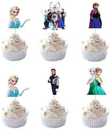 Amazon.com: PrincessCake - Juego de 24 piezas de decoración ...