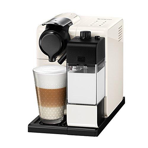Cafetera Nespresso Lattissima Touch, Color Blanca (Incluye obsequio de 14 cápsulas de café)