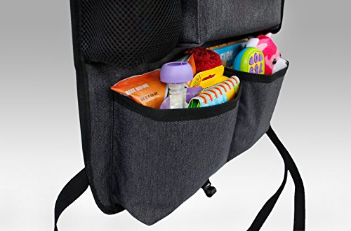 Big Toy Car Holder : Backseat car organizer for kids toys baby wipes with