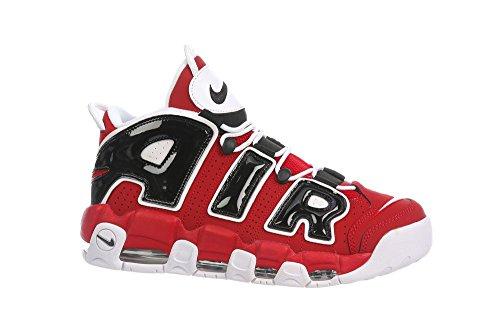 Nike Air More Uptempo '96 Varsity Red, White-black