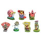 SpongeBob SquarePants® 2'' Aquarium Ornaments, 7-Piece Set