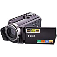 Mini DV, High Definition Digital Video, Camcorder DVR 3 TFT LCD 16x Zoom Hd Video Recorder Camera 1080P Digital Video Camcorder With Night Vision, HDMI And Touchscreen (B)