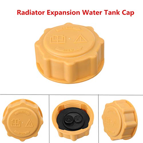 - Cocas Car Radiator Expansion Water Tank Cap 1647751 6160686 1647750 1650630 for Ford for Fiesta Ka Escort for Focus for Fusion Yellow