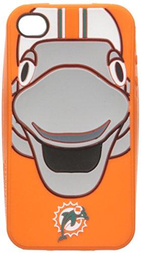 FOCO Miami Dolphins Mascot Silicone Ai4 Cover - Miami Dolphins Mascot