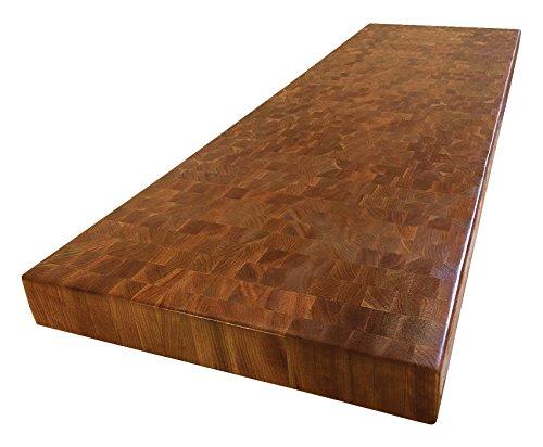 (Armani Fine Woodworking End Grain Cherry Butcher Block Countertop)