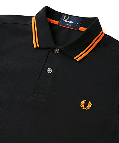 88d9c30e6 Fred Perry Men s Slim Fit Twin Tipped Polo Shirt