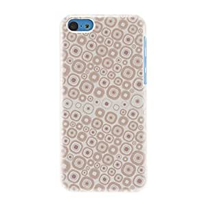LZX Cute Rhombs Pattern Hard Case for iPhone 5C