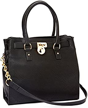 MKF Collection Plora Faux Leather Satchel