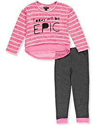 Girls' Knit Top and Legging Set (More Styles Available)