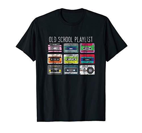 Vintage Retro Music Cassette Tapes Mixtape T-Shirt -