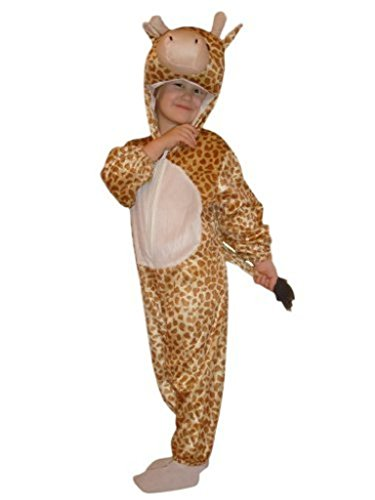 Fantasy World Giraffe Halloween Costume f. Children/Boys/Girls, Size: 9, J24 (Good Last Minute Halloween Costumes For Adults)