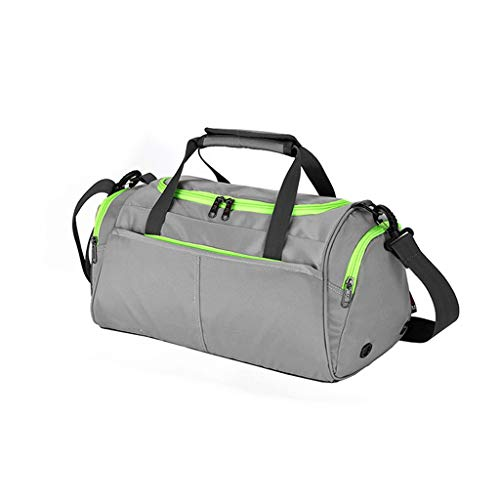 XBETA Gym Bag for Men Women, Travel Workout Sports Gym Bag with Shoe Compartment and Wet Pocket (Color : B)