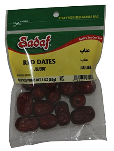 Sadaf Red Dates(Annab) 3oz