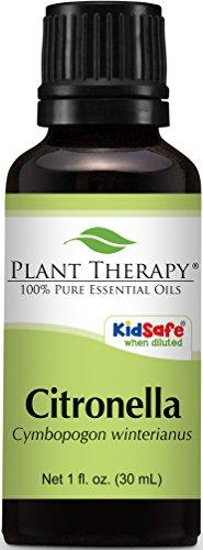 Citronella Essential Oil. 30 ml (1 oz). 100% Pure, Undiluted, Therapeutic Grade.