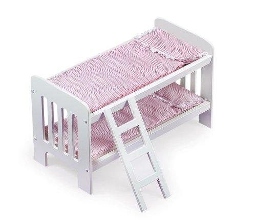 Badger Basket Doll Bunk Beds with Ladder (fits American Girl dolls)