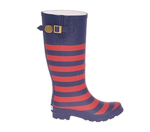Dark Initial Lillybee Blue Rainboots U and Red K U6fwFq5