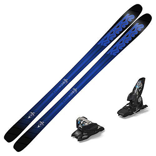 K2 2018 Pinnacle 88 Skis w/ 2019 Marker Griffon 13 ID Bindings