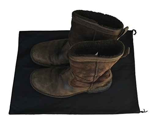 2 Woly XXL Shoe Bags (18''x 14'' in.) Fits 2 Pairs of Shoes Per Bag. Good for Travel. Made in Germany. by Woly (Image #5)