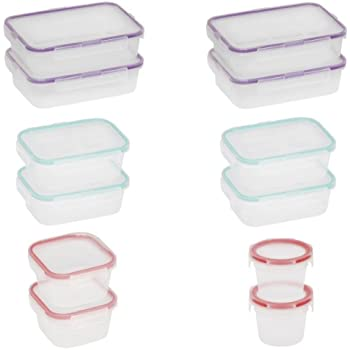 Snapware 24-Piece Airtight Food Storage Set, Plastic