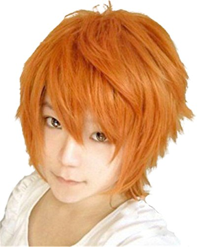 New Short Anti-alice Cosplay Wig (Orange)]()